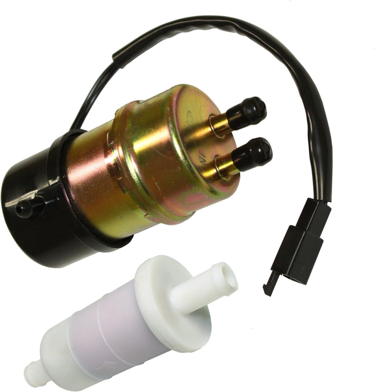 honda shadow fuel filter amazon com caltric fuel pump   filter for honda vt1100c2 shadow 1996 honda shadow 600 fuel filter caltric fuel pump   filter for honda