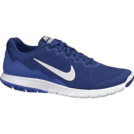Nike Mens Flex Experience Run 4 Deep Royal Blue/Game Royal/White Running  Shoe