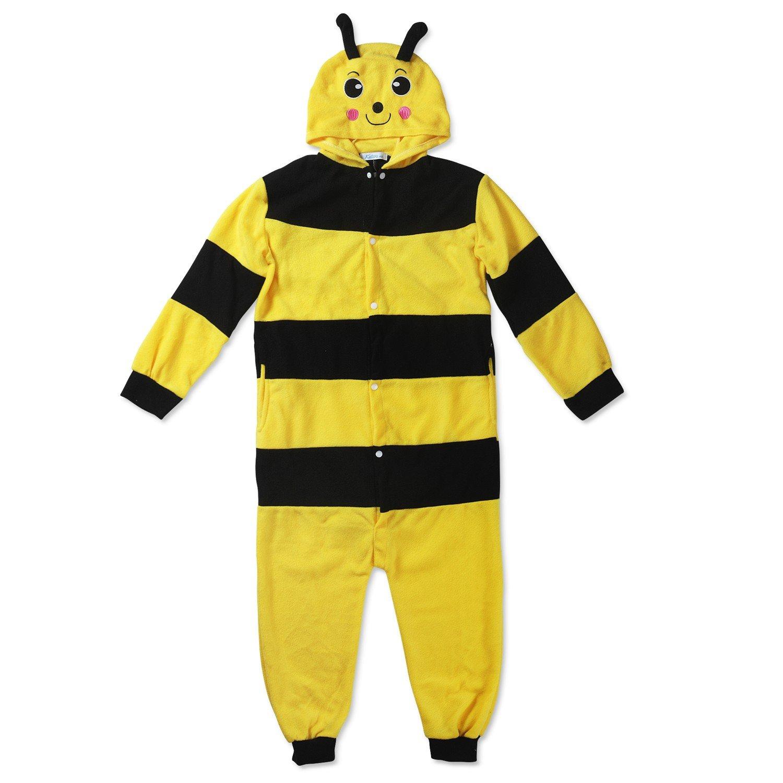 Kinder Fleece Onesie - Affen Kostüm 2 - 9 Jahre - Gemütlicher Jumpsuit für Fasching, Cosplay, Karneval - Plüsch Verkleidung für Party als witziger Affe in Braun Katara 1830