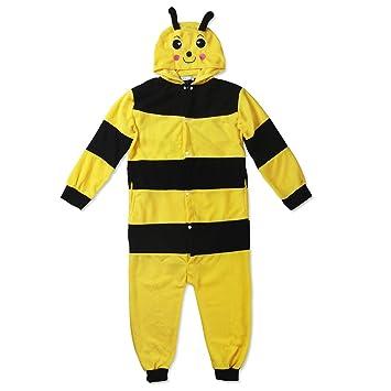 Katara Kigurumi Pijama para Niños Traje Disfraz Animal Color abeja 3-5 años 1830