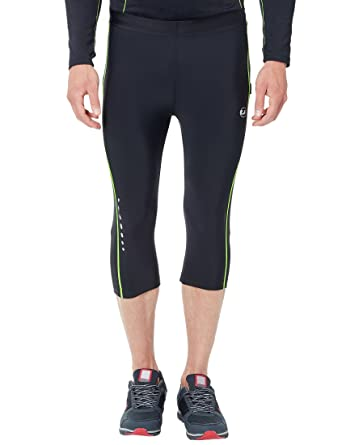 Ultrasport Pantalones de correr para hombre – pantalones de fitness 3 4  para hombre 322e0832b5c49