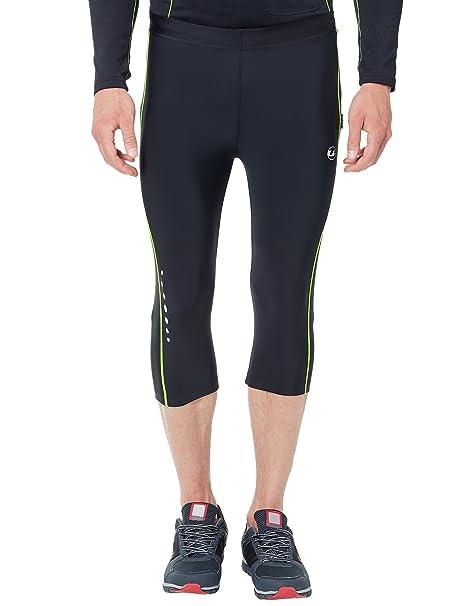 Ultrasport Herren Laufhose, 34 lange Fitnesshose für Männer, mit Kompressionswirkung und Quick Dry, für alle Sportarten geeignet