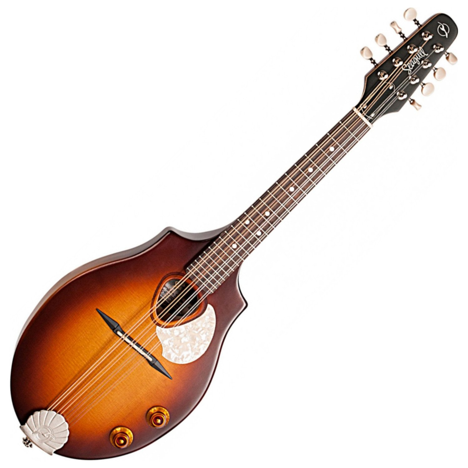 Seagull S8 Mandolin Sunburst EQ w/Polish Cloth and Tuner by Seagull (Image #3)