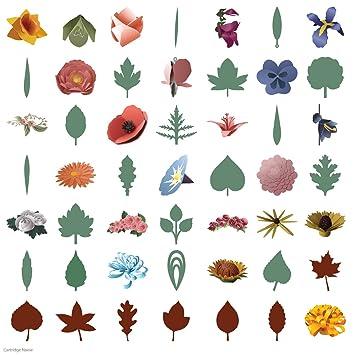 Gentil Cricut 3D Floral Home Decor Cartridge