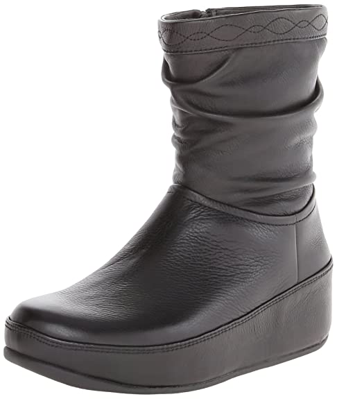 FitFlopZip Up Crush (Leather) Botas mujer