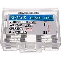 BOJACK T10AL250V 5x20mm 10A 250V Fusibles de fundición