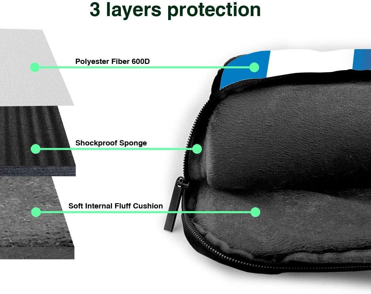 Lebanon and Guatemala Flag Funny Laptop Case Laptop Shoulder Messenger Bag Sleeve for 13 To15.6 Inch