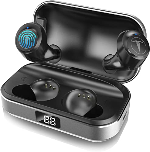 Bluetooth Headphones,5.0 True Wireless Earbuds Deep Bass Sound