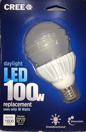 Amazon.com : (Ship from USA) Cree BA21-16050OMF-12DE26-1U100 100-watt Equivalent Daylight A21 LED Light Bulb /ITEM NO#8Y-IFW81854235598 : Baby