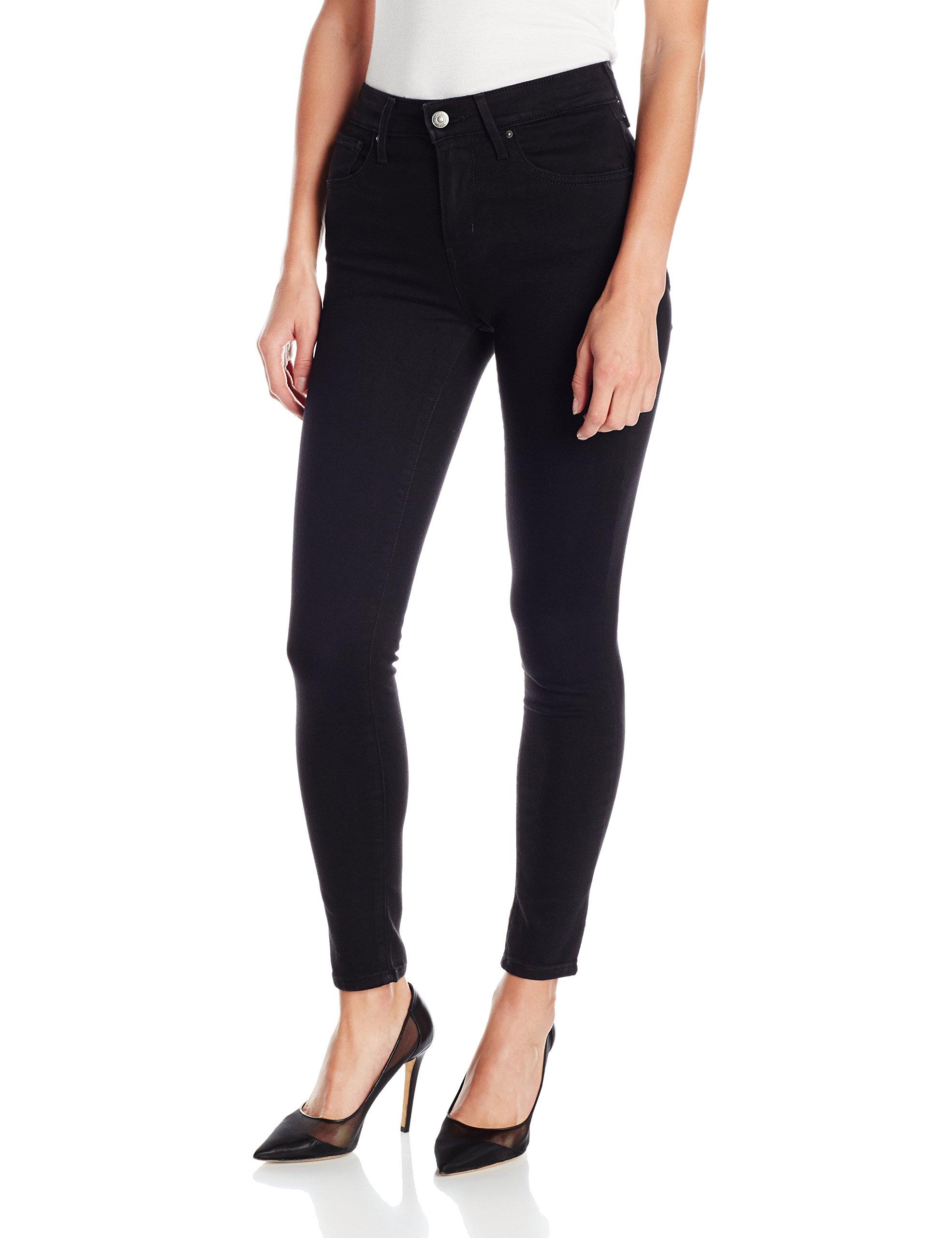 Levi's Women's 721 High Rise Skinny Jeans, Soft Black, 27 (US 4) R