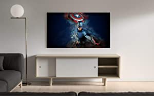 """Poster Compatible With Captain America's Shield Art Print Avengers Infinity War Movie Steve Rogers Unframed Printing Wall Decor Size (XL - 24""""x36"""" (61x91cm))"""