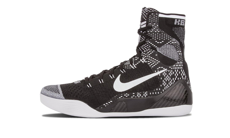 Nike Men's Kobe IX Elite BHM, BHM-Black