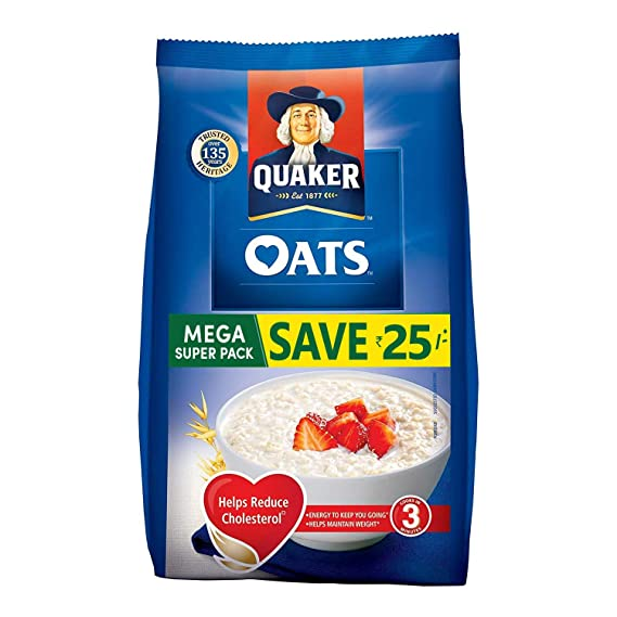 Quaker Oats, 1.5kg Pack: Amazon.in: Grocery & Gourmet Foods