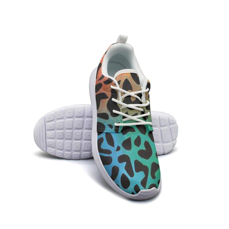 Hobart dfgrwe Leopard Grain Womans Skateboard Casual Shoes New Tennis Shoes