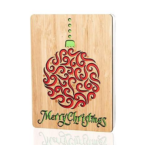 Amazon.com: Tarjetas de Navidad/regalos: tarjeta de ...