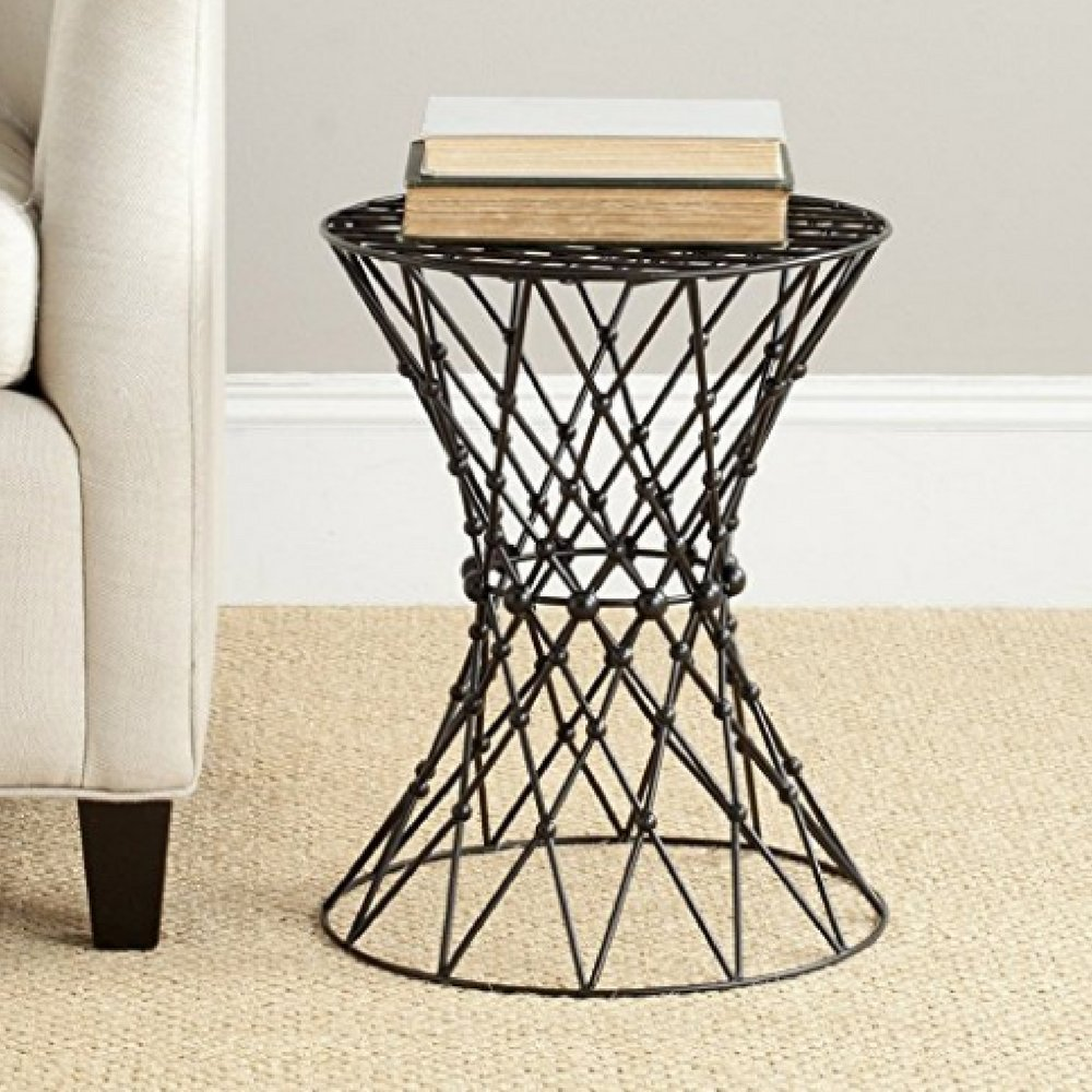 Minimalistic Coffee Table, Iron Material, No Assembly, Round Shape, Matte Black Color, Lightweight, Ideal For Indoor Spaces, Stylish And Modern Design, Sturdy And Durable Construction & E-Book by Minimalistic