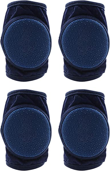 Premium Baby Knee Pads Anti-Slip Walking For Boys Girls crawling Toddler Breathable Fabric For Babies grouped in 3 pairs