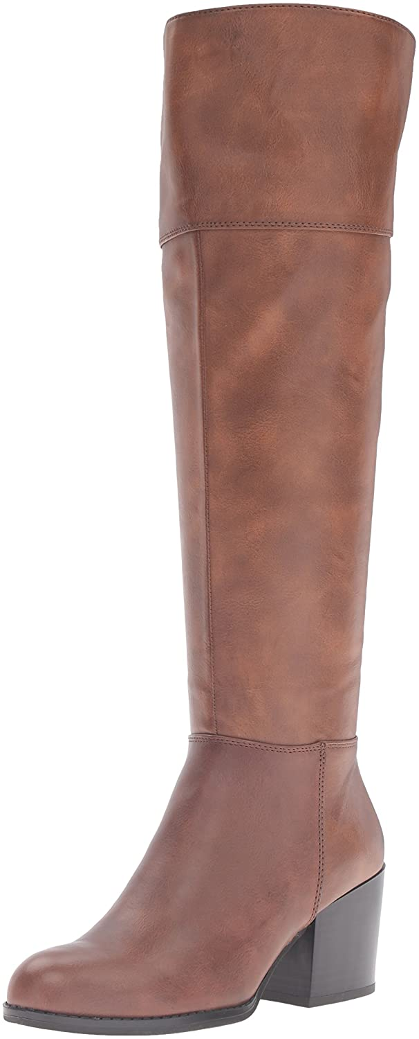 Madden Girl Women's Wendiee Riding Boot B01K28WZKC 7.5 B(M) US|Cognac Paris