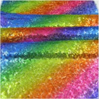 Rainbow Sequins Table Runner Rectangle Placemats Table Cover Wedding Hawaiian Summer Holiday Baby Shower Christmas…