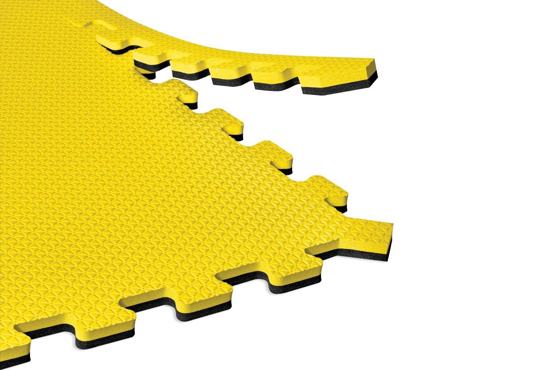 EVA Foam Interlocking Tiles Norsk Truly Reversible 1//2 Foam Mats