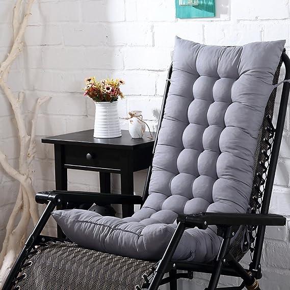 Bon Amazon.com : Didihou Rocking Chair Cushions, 1 Piece Soft High Back Seat  Cushion For Indoor Outdoor Use (Grey) : Garden U0026 Outdoor
