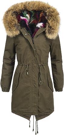 manteau femme vert olive