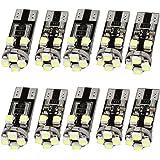 Ampoules clignotant sans erreur LED canbus 8 SMD blanche W5W T10 501 lot X10