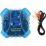 Stone - Pro SB-S31VA 3 in 1 / 3 Way AV Switch AV Audio Video Selector Switcher Switch Box Spliter A/v Multi Input Output