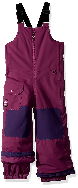 Burton Boys Minishred Maven Bib Pants, Grapeseed, 4T 130521