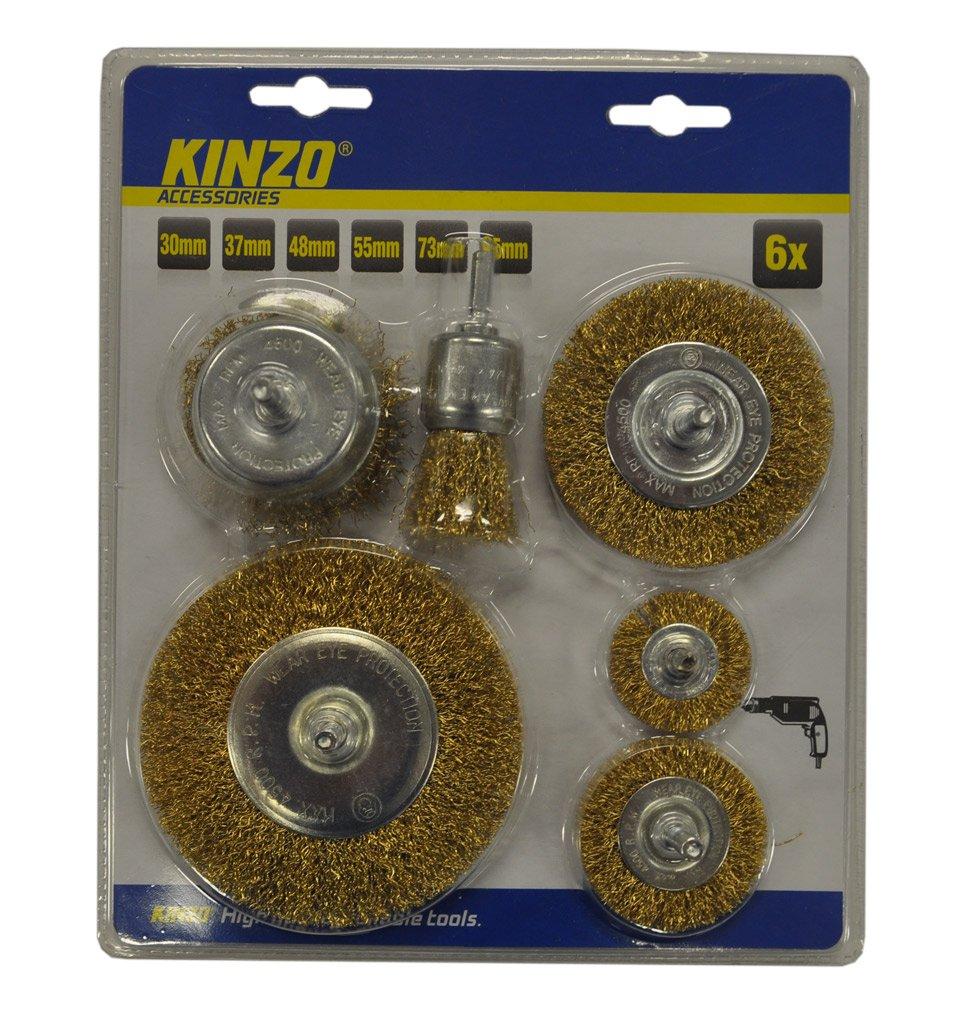 KINZO Steel Brush set 6 St/ück ST 54679