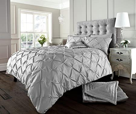 Luxury Duvet Cover King Size Kingsize With Pillowcases Quilt Bedding Set  Reversible Poly Cotton  a2301f897