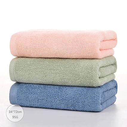 ZLR Toalla de fibra de bambú hombres adultos y mujeres Lave la toalla de cara Toalla