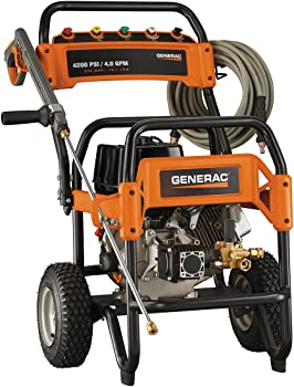Generac 6565 4,200 PSI 4.0 GPM Commercial Pressure Washer