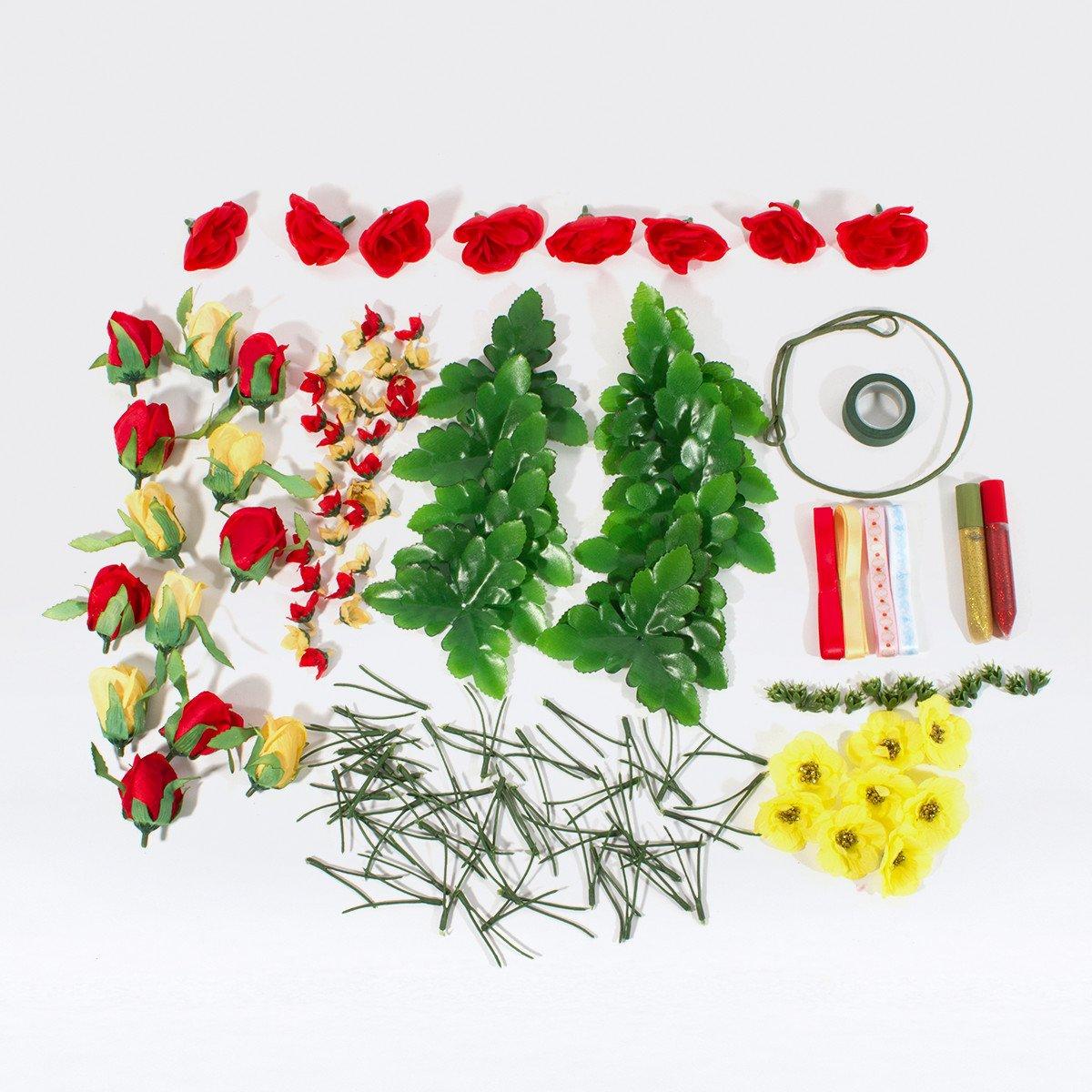 Amazon seedling disneys beauty and the beast design your own amazon seedling disneys beauty and the beast design your own enchanted flower rose crown activity kit toys games izmirmasajfo