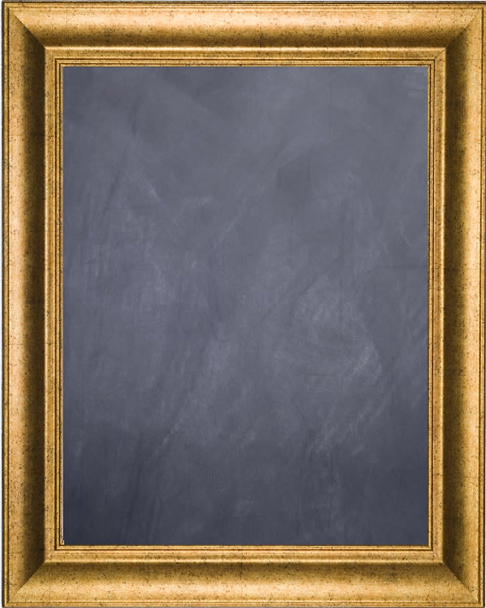 Framed Chalkboard 24'' x 36'' - with Antique Gold Finish Frame