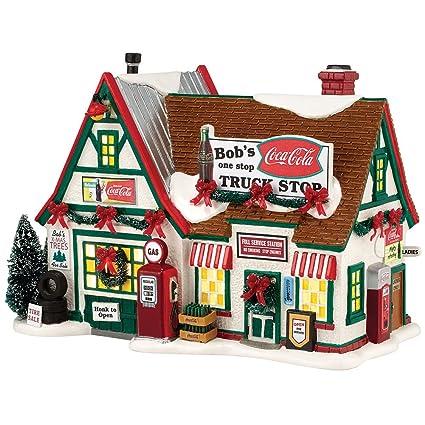 Coke Bob's Truck Stop Village: Coca Cola Lighted Building Christmas Decor - Amazon.com: Coke Bob's Truck Stop Village: Coca Cola Lighted