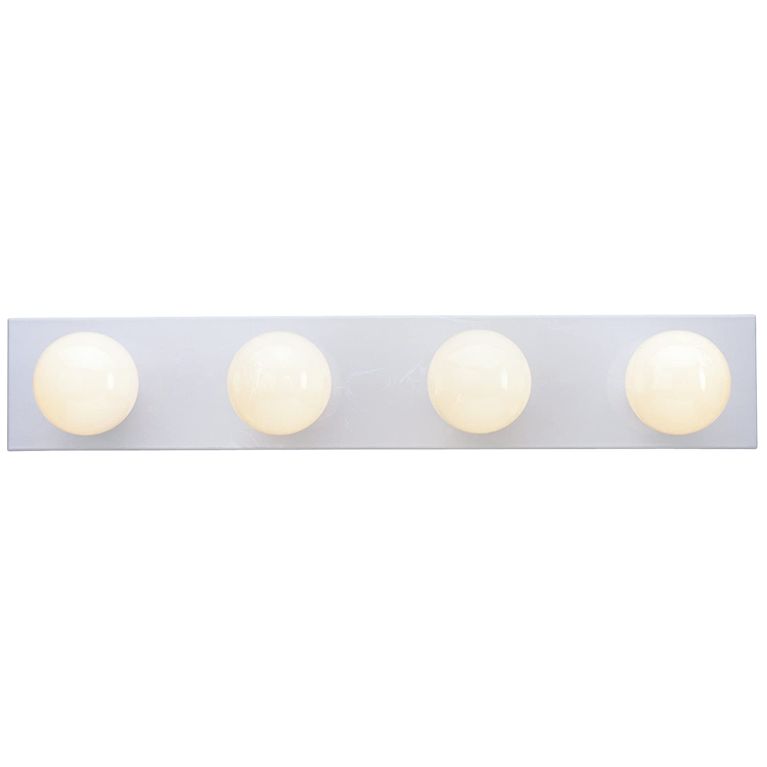 Westinghouse 6659500 4Light Interior Bath Bar White Finish