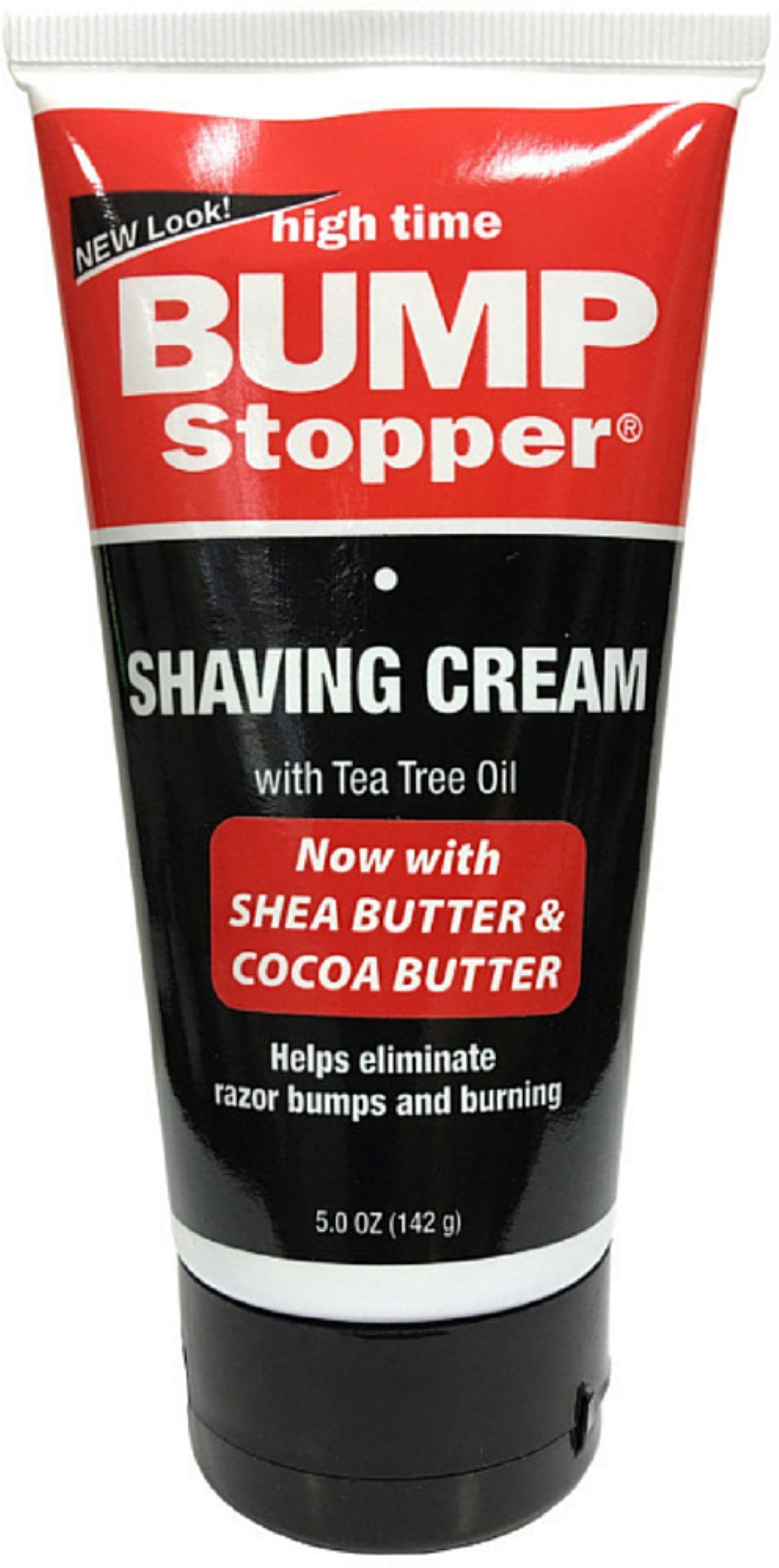 High Time Bump Stopper Shaving Cream With Tea Tree Oil 5 oz (Pack of 3)