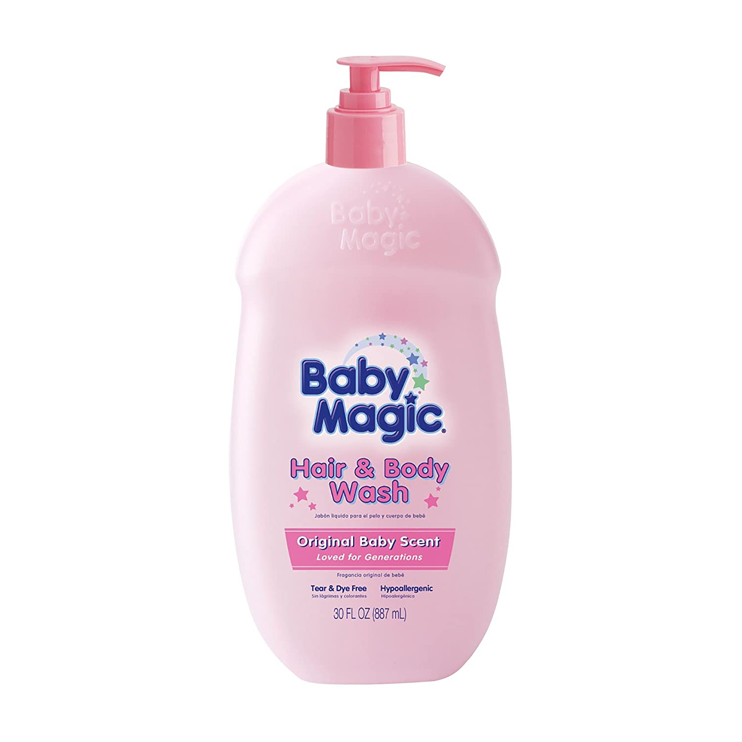 Baby Magic Hair and Body Wash, Original Baby Scent, 30 Ounces NATERRA494195
