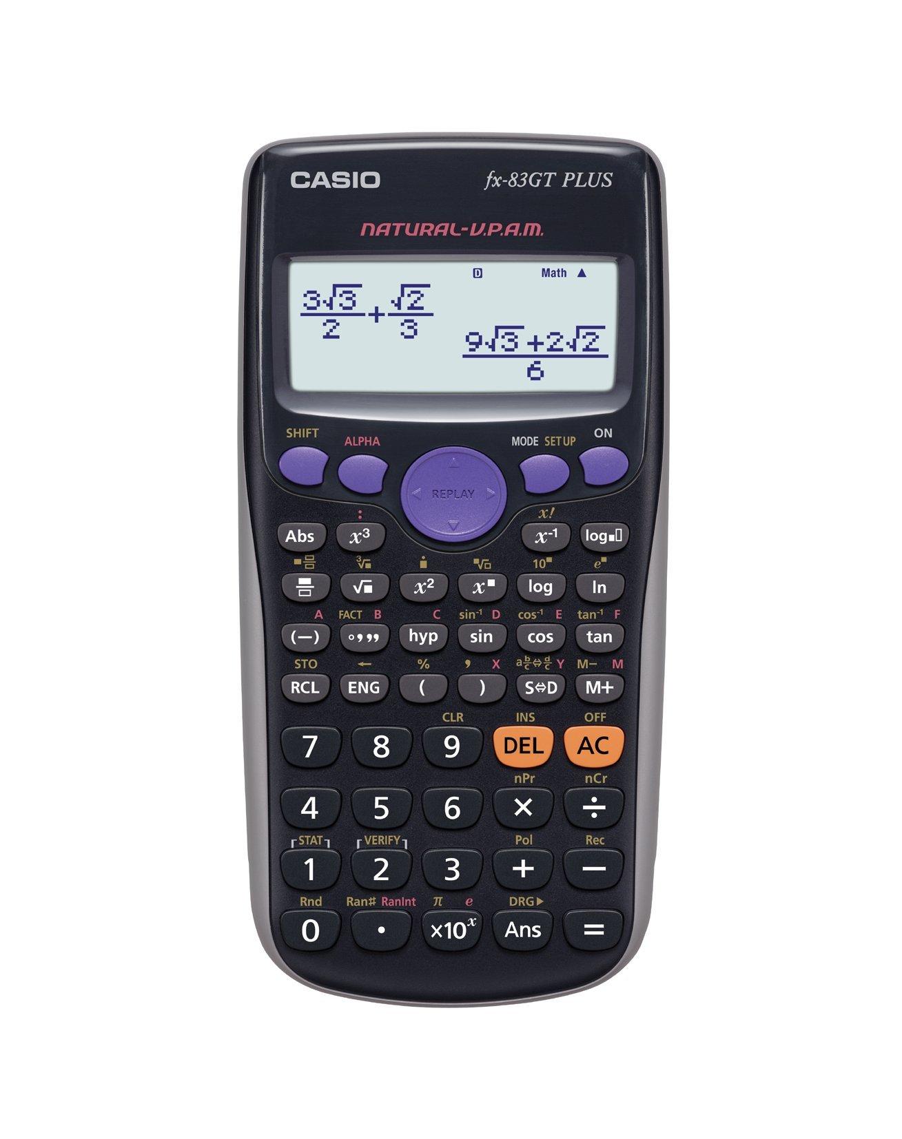 Casio FX-83GTPLUS - Calculadora científica (Importado) product image
