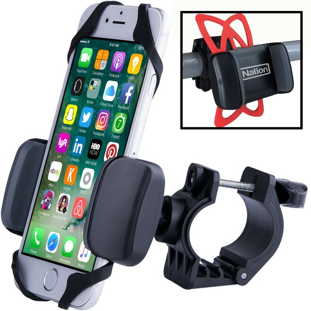 new concept 7251e 9918d Fit Nation Bike Phone Holder For Smartphone, iPhone: Amazon.in ...