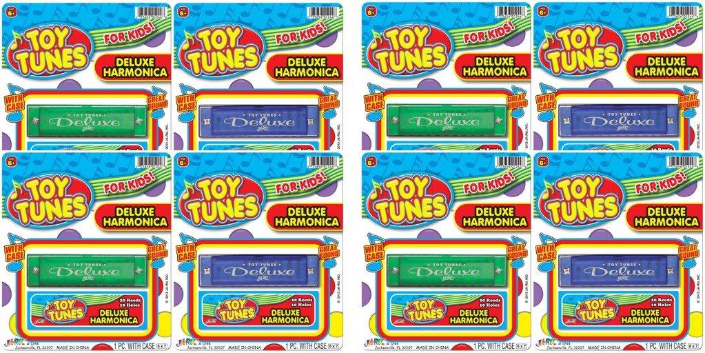 Toys 23510 JA-RU Toy Tune Deluxe Harmonica Bundle Pack Ja-Ru Inc