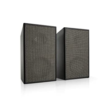 auna Pure Precision Box Juego de Altavoces Activos - Altavoces de 2 vías , Preamplificador Integrado , 100 W MAX , 2 x 25 W de Potencia Media , 6 Ohm ...