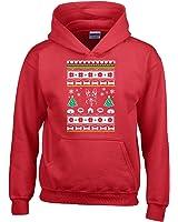 ugly christmas sweater german shepherd dog design ttd16 adult hoodie