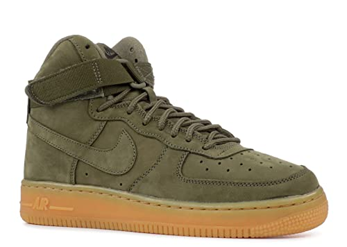 sale retailer fa4b8 9f0c4 Nike Kids Air Force 1 High WB GS, Medium OliveMedium Olive, 3.5