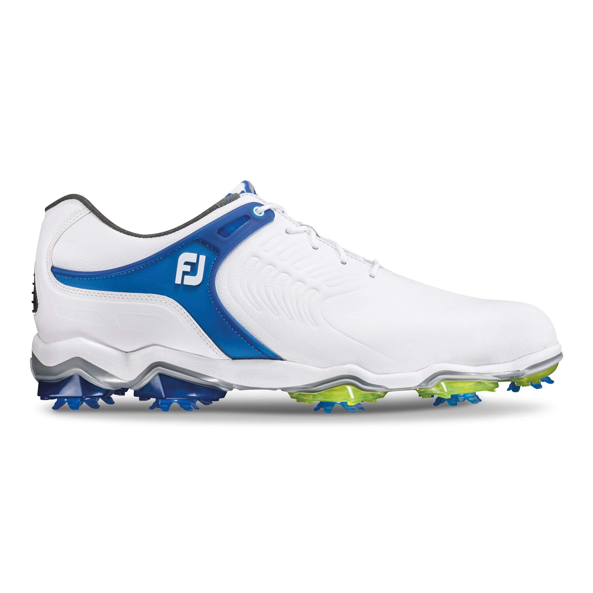 FootJoy Men's Tour-S Golf Shoes White 12 M Blue, US by FootJoy