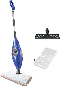 Shark S3501WM Electric Floor Steamer Steam Cleaner Pocket Mop with 2 Heads and 2 Microfiber Pads for Sealed Hard Floors (Renewed)