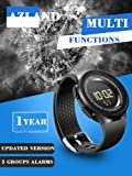 5 Multiple Alarms Reminder Sports Kids Wristwatch
