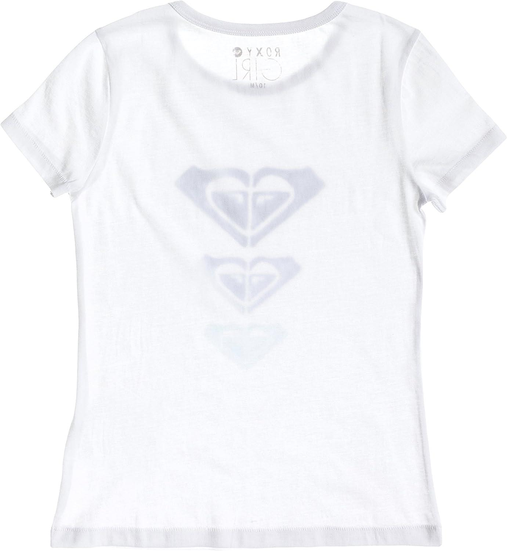 Roxy Basic A Camiseta con serigraf/ía Ni/ña