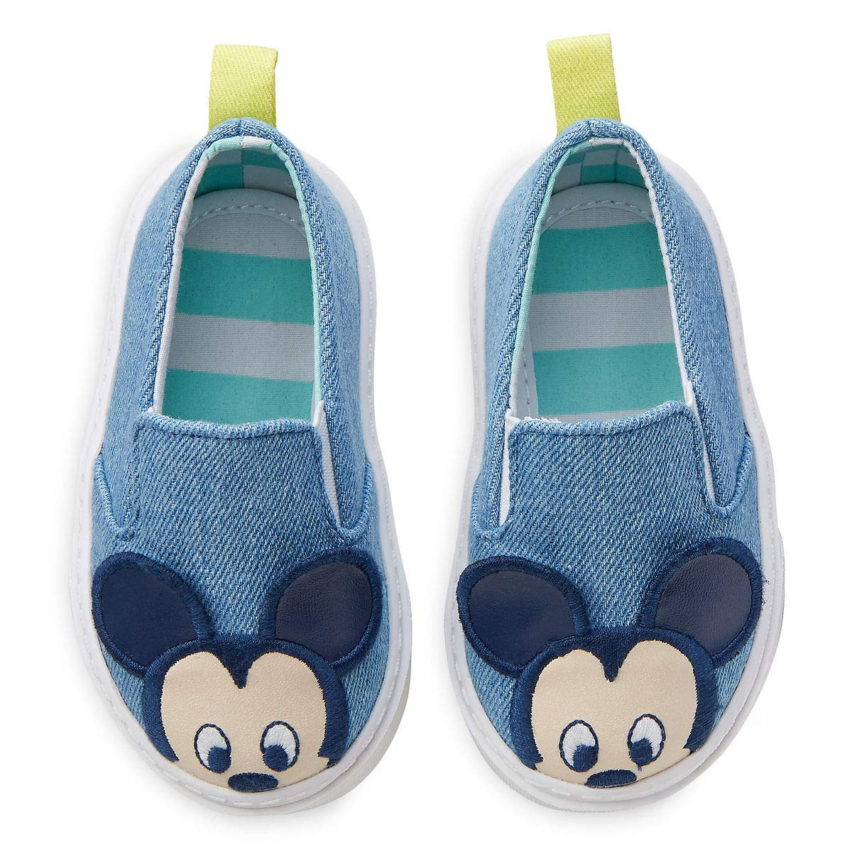 Disney Mickey Mouse Shoes for Baby Size 0-6 MO Multi